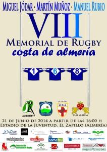 Cartel VIII Memorial Costa de Almeria - Pequeño